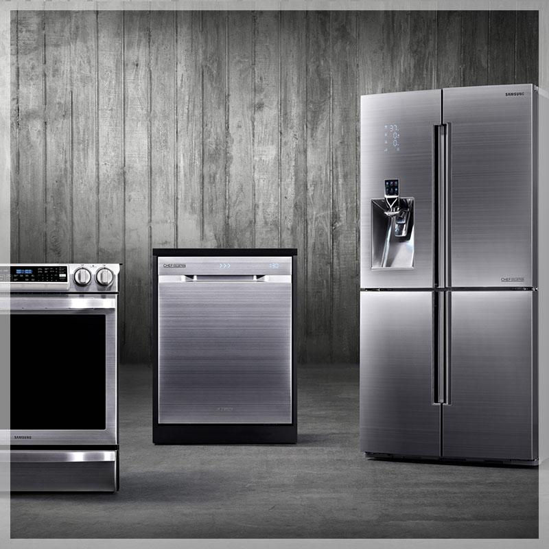Samsung dishwasher, oven, fridge in Adelaide
