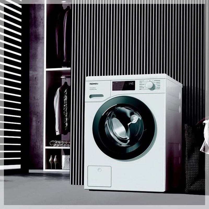 Miele washing machine in a house at Adelaide city